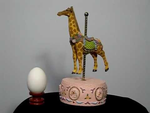The giraffe music box