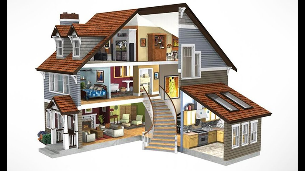 Home Design Ideas 3d: How To Design 3d Home In Illustrator