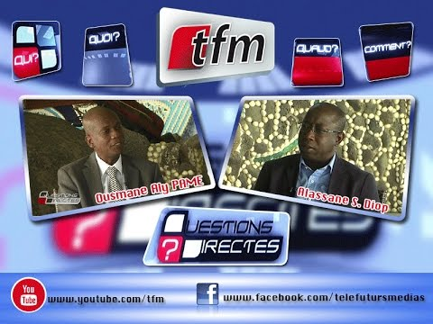 Questions Directes - 15 Fevrier 2016 - Invité: Ousmane Aly PAME, Pdt section Africaine Ecovillages