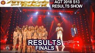 Results Top 3 & Top 2  Zurcaroh Shin Lim Brian King Joseph | America's Got Talent 2018 Finale AGT