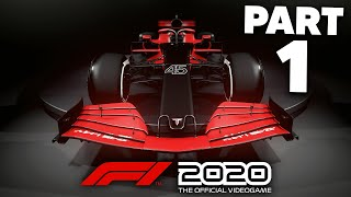 F1 2020 MY TEAM CAREER MODE Gameplay Walkthrough Part 1 - THE 11th TEAM