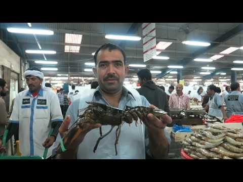 Dubai Deira Fish Souk, Dubai, United Arab Emirates
