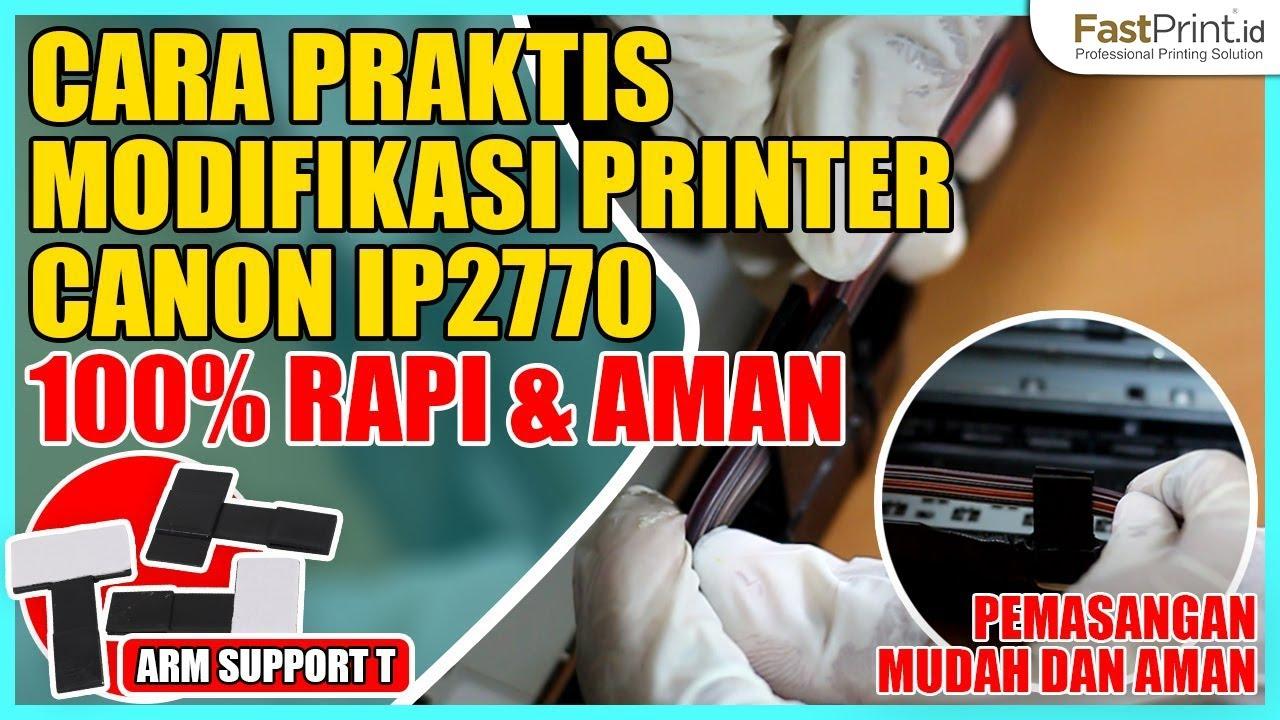 Part 2 Cara Modif Cartridge Cl 811 Pg 810 Canon Ip2770 Mp237 Ink Cl811 Original Dengan Obeng Bor Fast Print