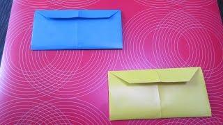 Как сделать конверт из бумаги!(Новый канал ОРИГАМИ МАСТЕР- https://www.youtube.com/channel/UCNsNXYEU62inFHvVMPE6lCg Как сделать и собрать бумажный конверт оригами..., 2014-10-16T08:22:41.000Z)