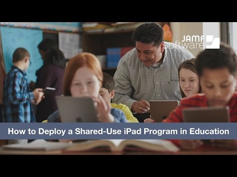 How to Deploy a Shared-Use iPad Program in Education