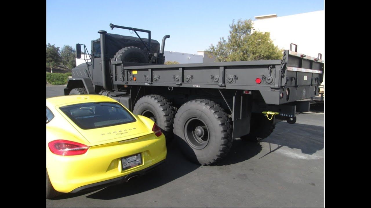 FTF Tech 1989 Military M925A2 6X6 Cargo Truck Restoration for Sale ...