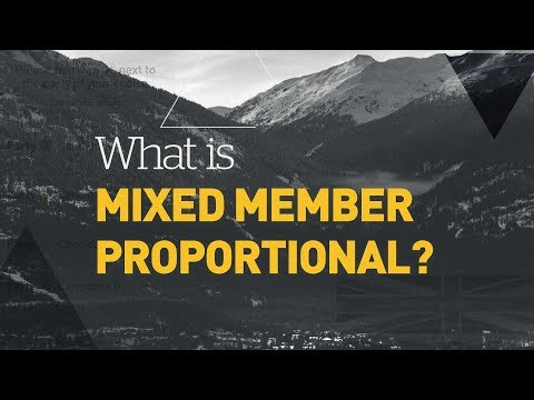 What Is Mixed Member Proportional?