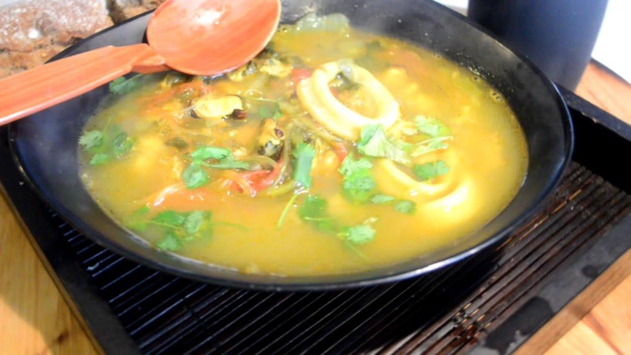 Recette de soupe fruit de mer