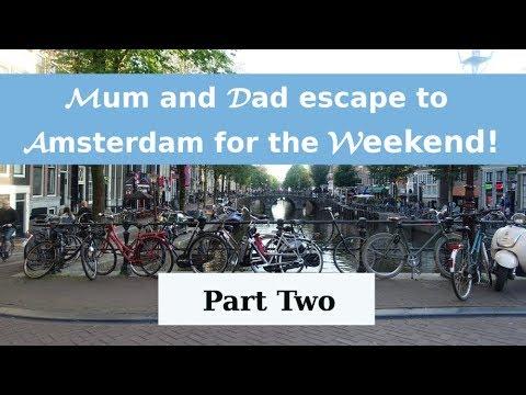 Part 2 // Minimalist Travel // Frankfurt to Amsterdam // City Break // Weekend Away // Europe Travel