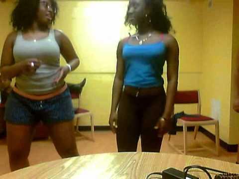 Us dancing to Bobaraba