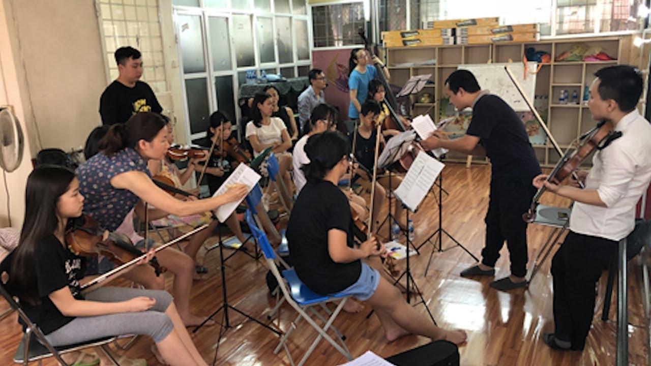Gặp gỡ dàn nhạc giao hưởng nhí đầu tiền tại Việt Nam, Junior Maius Orchestra - Tin Tức VTV24