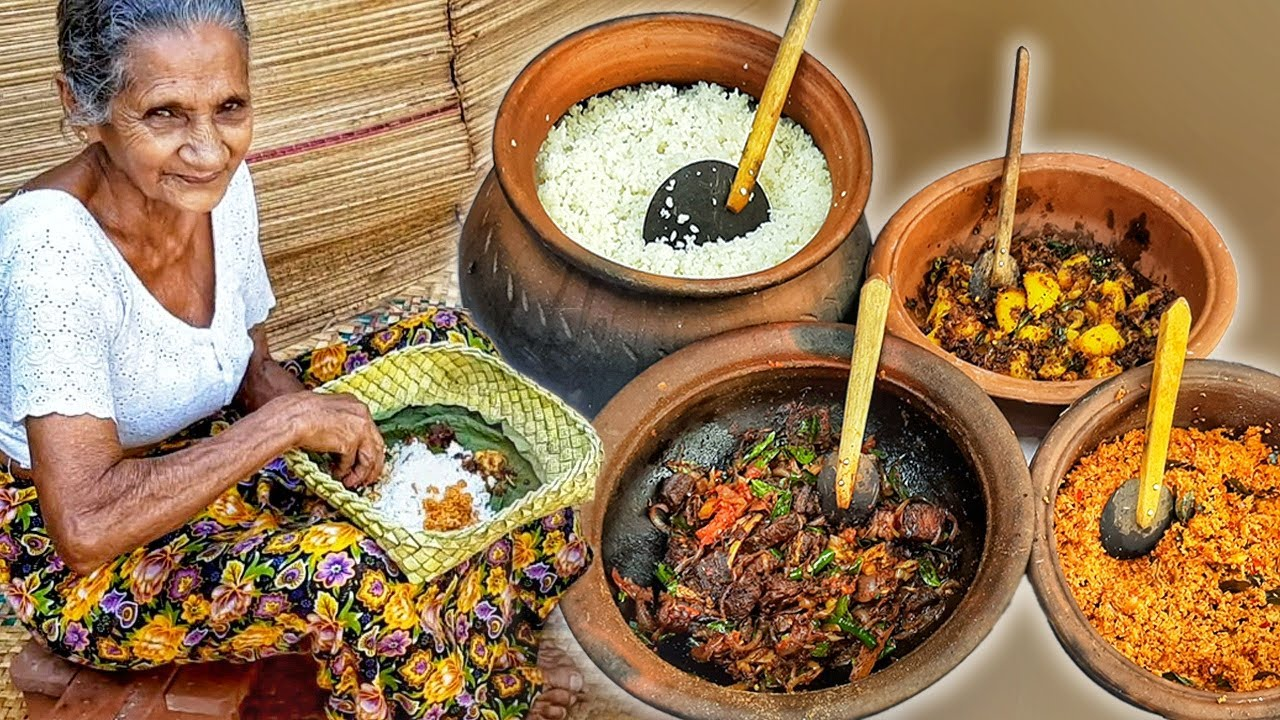 Download Traditional Village Rice and Curry by Grandma Menu