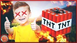 2 SPELERS GEKILLED DOOR 1 CREEPER!!! - Minecraft Troll