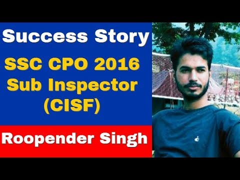 Success Story of Roopender Singh (CPO 2016 Sub Inspector, Chat with Mr Dinesh Godara (CEO-WiFiStudy)