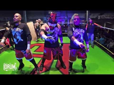 Eric Ryan - G-Raver - Kenji Fukimoto VS Cíclope - Miedo Extremo - Violento Jack