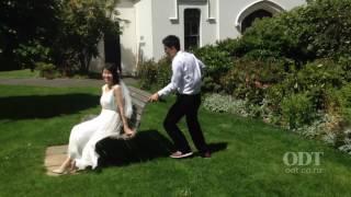 Wedding photos at Dunedin