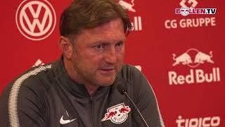 RB Leipzig: PK vor dem Heimspiel gegen den HSV