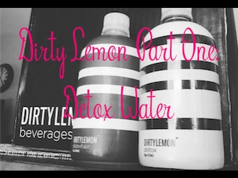 Dirty Lemon Part One: Detox Water