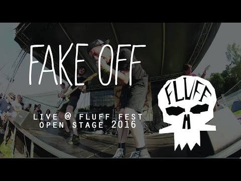 FAKE OFF live @ FLUFF FEST 2016 (open stage)