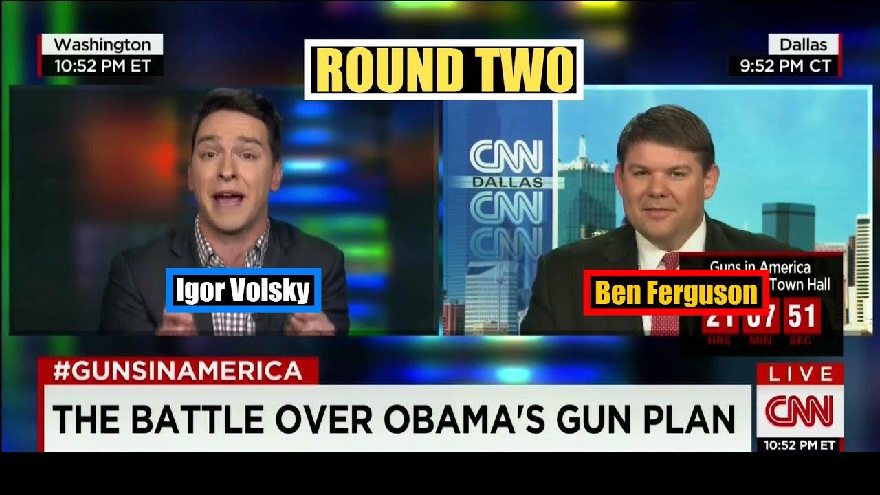 ROUND TWO: Ben Ferguson vs. Igor Volsky on President Obama\'s ...
