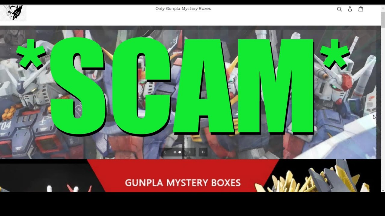 Download I bought two Gunpla Mystery Boxes and got SCAMMED!