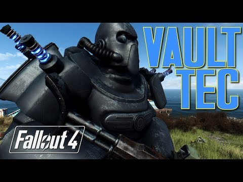 Repeat VAULT TEC POWER ARMOR AND XM50 RIFLE - Fallout 4 Mod