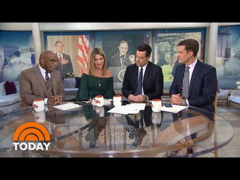 Jenna Reads Newly-Discovered Letters From George H.W. Bush | TODAY