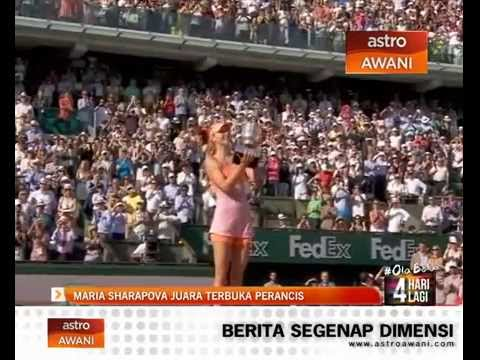 Maria Sharapova juara Terbuka Perancis
