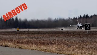 F-15s & F-16s Scrambling At Red Flag 18-1