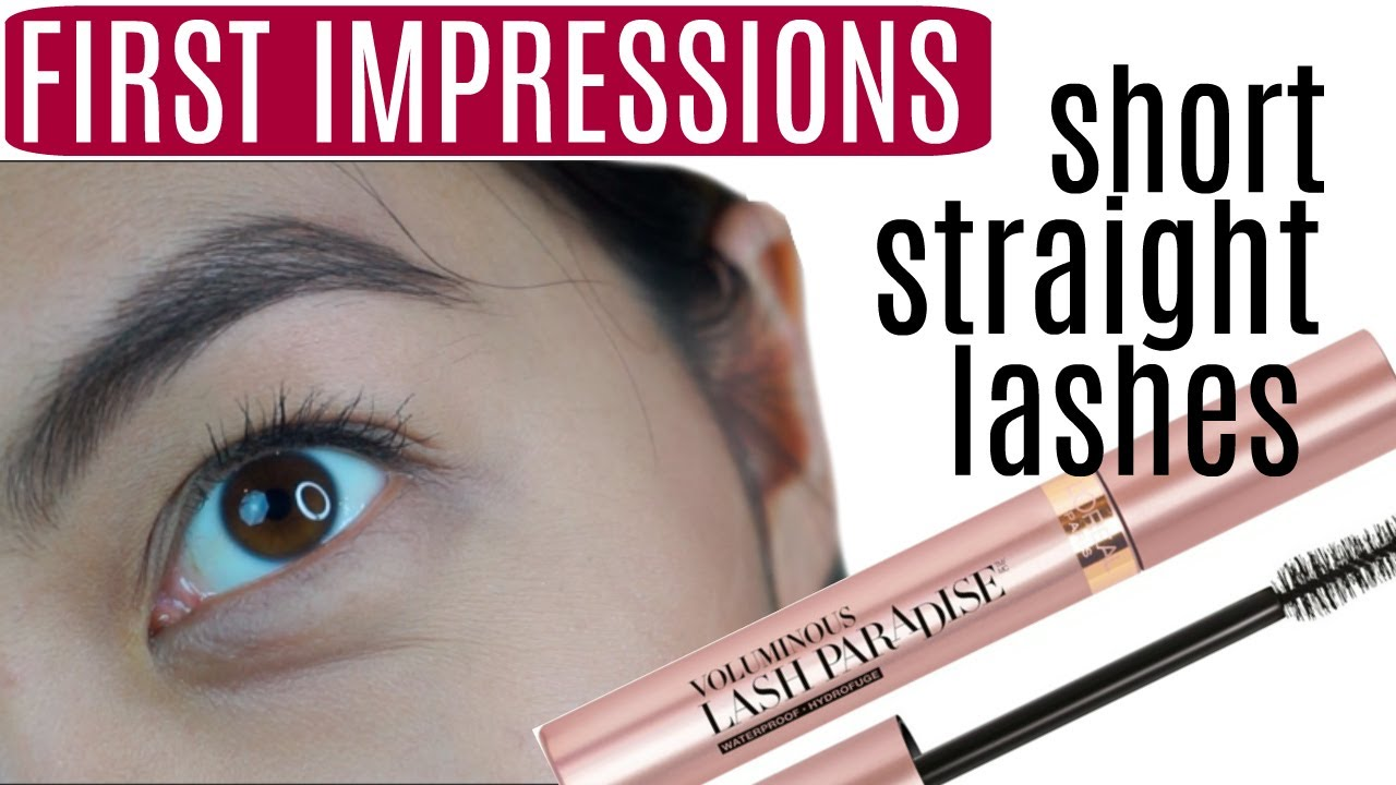 First Impressions Loreal Voluminous Lash Paradise On Short