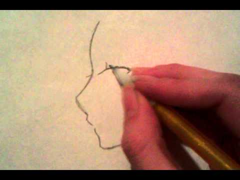 how-to-draw-an-anime-face-turned-at-an-angle-(step-by-step)