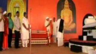 Sanjay Desai and Morai Bapu at Nadiad