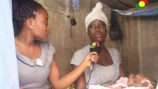 Mad woman healed as she delivers twins