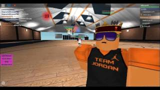 Roblox Professional Basketball Playing With The Legend/Creator Littleninjablox!!!