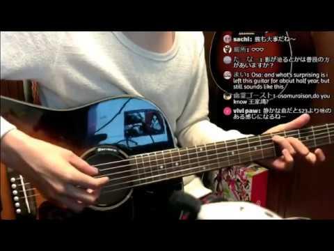 おさむらいさんシグネチャーモデルと弾き比べ Guitar Streaming!  728 2017/9/6