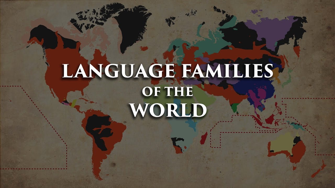 Language Families Of The World YouTube - Language families of the world