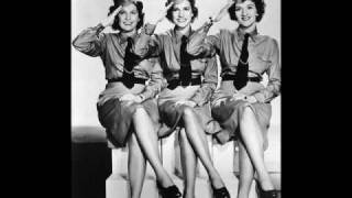 Andrew sisters with Danny Kaye - Civilization (the good version)