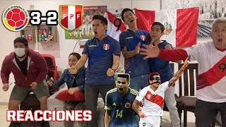Colombia 3 - 2 Perú | REACCIÓN de PERUANOS | Copa América 2021