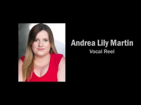 Andrea Lily Martin Vocal Reel