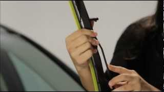 Rain-X® Fusion™ Installation - Large J-Hook Arm