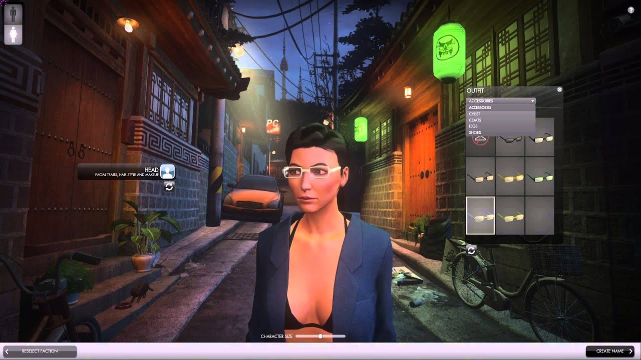 the secret world factions and female character creation youtube
