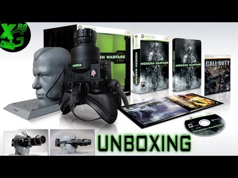 UNBOXING CALL OF DUTY: MODERN WARFARE 2 PRESTIGE EDITION  (ita)