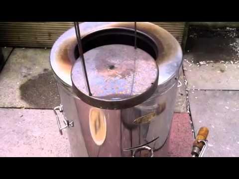 Outdoor Cooking With Tandoor Clay Oven