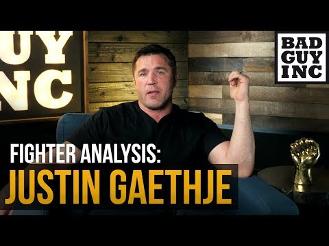 Let's talk about Justin Gaethje power...