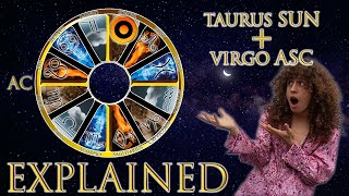 ☉ Sun in Taurus + Virgo Asc (rising sign) HD