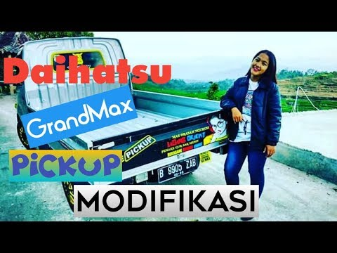 Daihatu PickUp GrandMax modifikasi