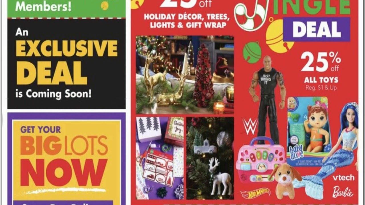 Dollar General Big Lots Black Friday 2020 Ad Scan 2020 Black Friday Sales Deals Offers Youtube