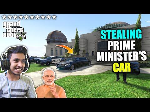 I STOLE PRIME MINISTER'S CAR | GTA V GAMEPLAY #6