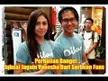 Iqbaal Ramadhan Perhatian Banget Jagain Vanesha Prescilla Dari Serbuan Fans