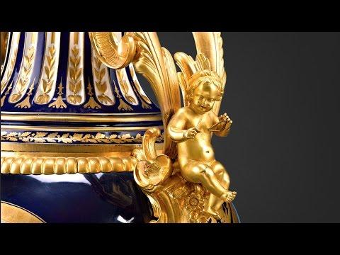 Sèvres palace porcelain urns from M.S. Rau Antiques